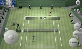Stickman Tennis - Career APK MOD imagen 1