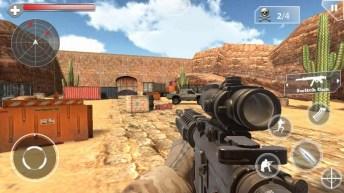 Shoot Hunter Gun Killer APK MOD imagen 1