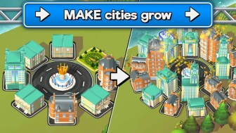 Transit King Tycoon - Transport Empire Builder APK MOD imagen 2