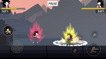 Stick Shadow War Fight APK MOD imagen 2