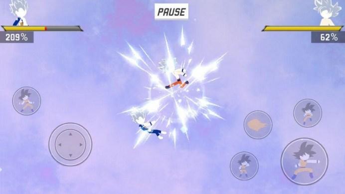 Stick Shadow War Fight APK MOD imagen 5