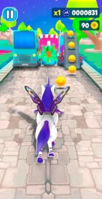 Unicorn Runner 3D - Horse Run APK MOD imagen 3