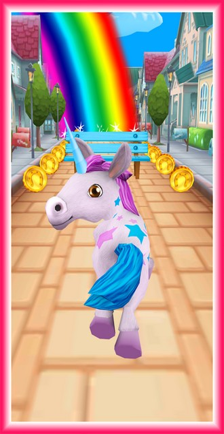 Unicorn Runner 3D - Horse Run APK MOD imagen 4