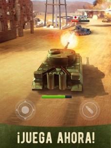 War Machines Tank Shooter Game APK MOD imagen 1