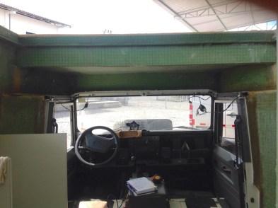 Interior cabine