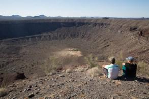 Cratera El Elegante, a maior delas