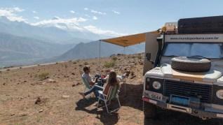 Acampamento no nada, Peru