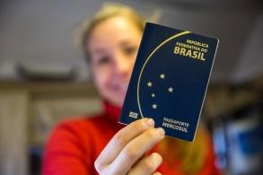 Passaporte novo!