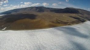 Voo de paramotor no Lago Baikal