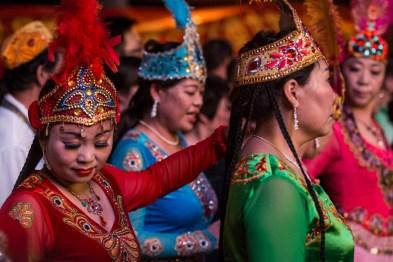 Dançarinas em Xi'an