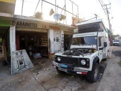 Torno mecânico em Palenque - México
