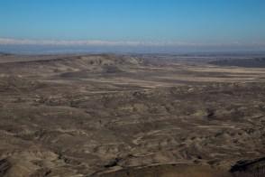 Ao sul a Armênia e possivelmente o Monte Ararat na Turquia