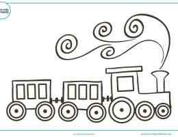 Dibujos De Paisajes Para Colorear Para Ninos De Primaria On Log Wall