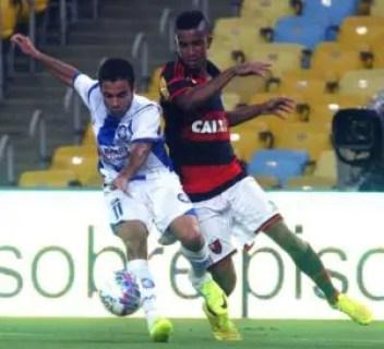 Nesse jogo, Jorge fez 3. (Foto: Site Oficial/Gilvan de Souza)
