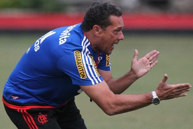 Fim da linha. (Foto: Flamengo Oficial - Gilvan de Souza)