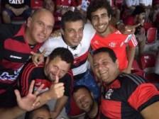 Flamengo é a religião da amizade! Obrigado FlaRecife! | Foto: Arquivo Pessoal