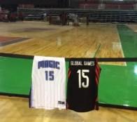 Quadra sendo montada na Arena HSBC. Foto NBA Brasil