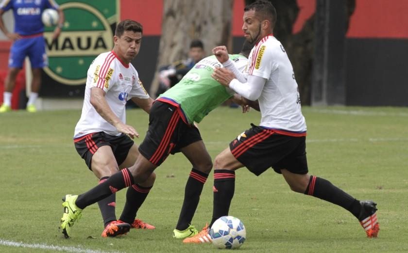Semana de treino forte   Foto: Gilvan de Souza/Flamengo