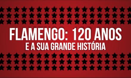 """Concurso Cultural """"Flamengo: 120 anos e A Sua Grande História"""" já está aberto!"""