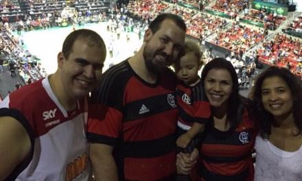 """""""Onde estiver, estarei"""". Torcedor sai de São Paulo para ver o NBA Global Games"""