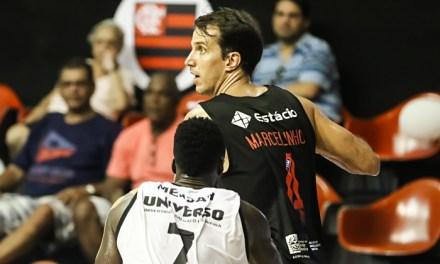 """""""Não podemos vacilar"""", diz Marcelinho após vitória arrasadora no NBB"""
