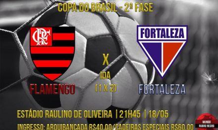Para vencer e convencer: Fla enfrenta Fortaleza na Copa do Brasil