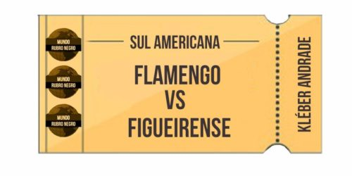 Ingressos – Flamengo x Figueirense (Sul Americana)