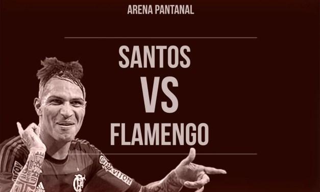 Contra o Santos, Flamengo tenta terceira vitória consecutiva