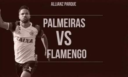 Flamengo e Palmeiras duelam pela liderança do Brasileirão em SP