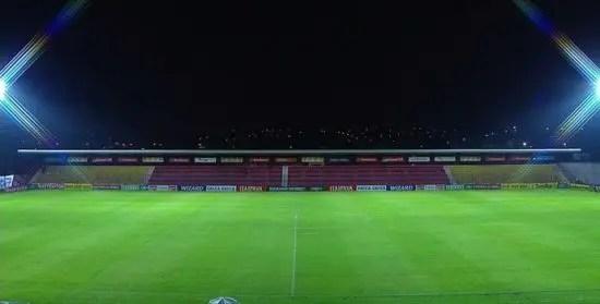 Setor central do Estádio. Créditos na imagem: Premiere.