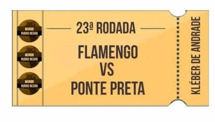 Ingressos – Flamengo x Ponte Preta