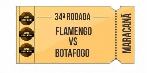Ingressos – Flamengo x Botafogo
