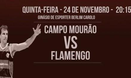 Flamengo enfrenta Campo Mourão tentando se manter invicto
