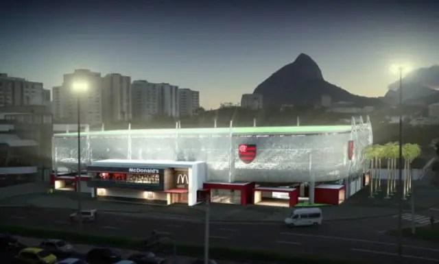 Flamengo projeta início das obras da Arena Multiuso em abril de 2017