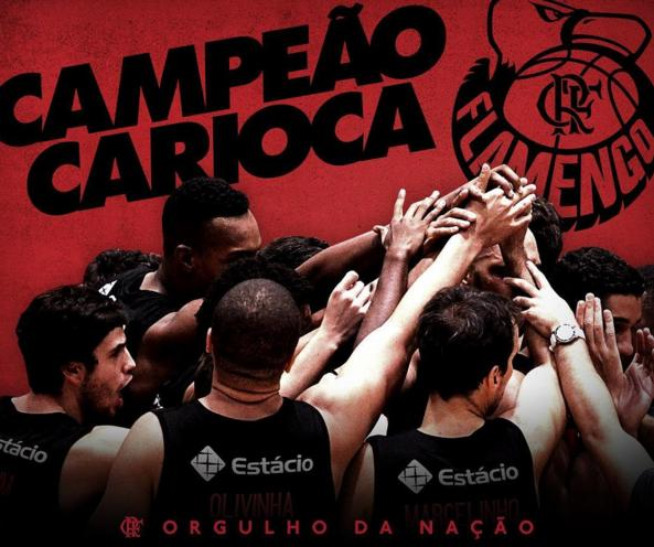 Vasco falta e Flamengo é campeão carioca de basquete por WO