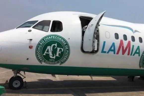 Flamengo nega ter voado em avião da Lamia