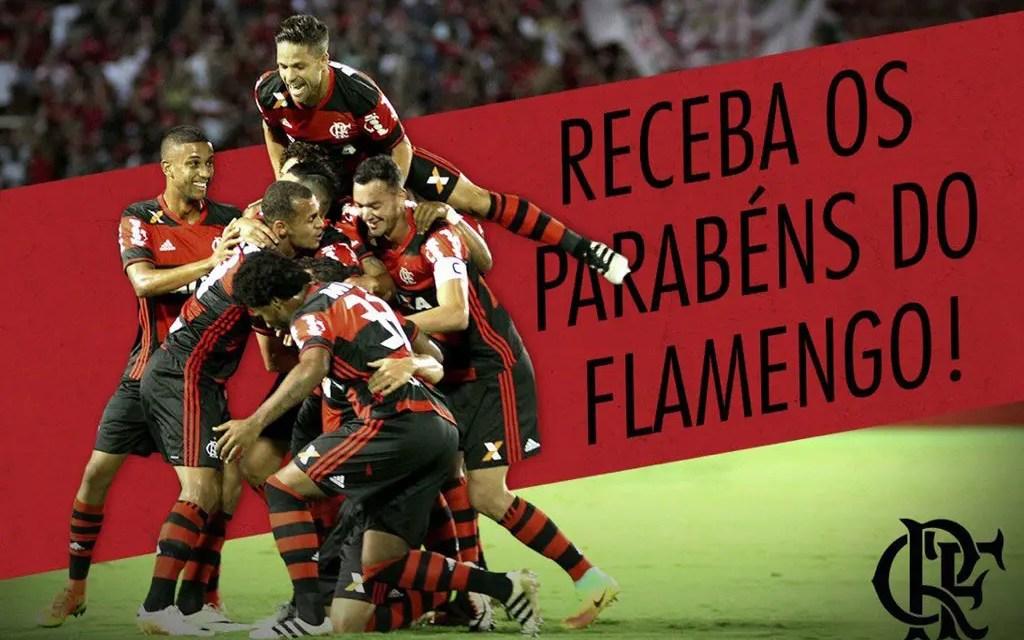 Flamengo vai parabenizar torcedores nas redes sociais