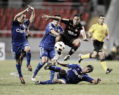 2011: Flamengo x Universidad de Chile
