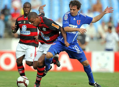 2010: Flamengo x Universidad de Chile