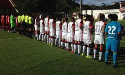 No Barradão, Flamengo/Marinha vence na estreia do Brasileiro Feminino 2017