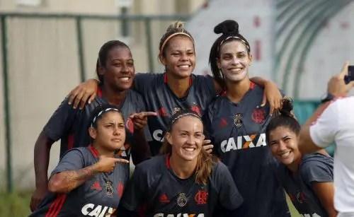 Flamengo/Marinha estreará no Brasileirão Feminino 2017 em Salvador