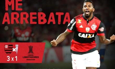 Fla volta a fazer dever de casa três Libertadores depois