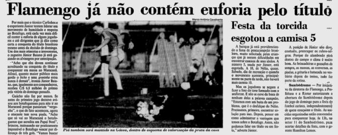 flamengo botafogo 1992