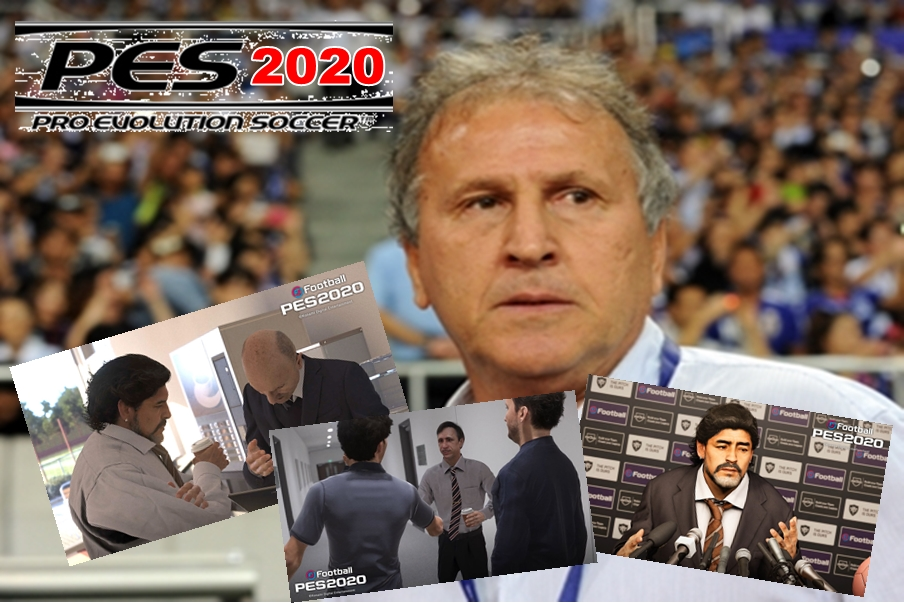 Você poderá escolher Zico como técnico na nova Master League de PES 2020