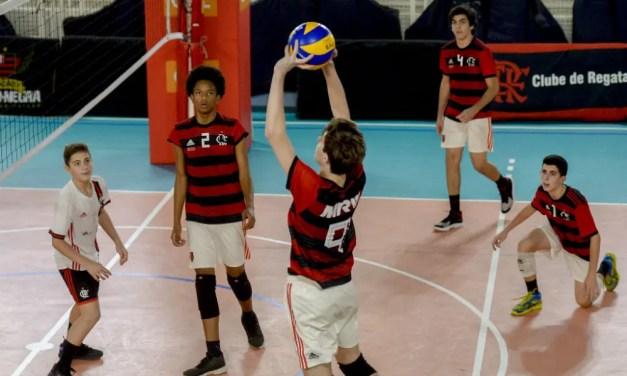 Flamengo conquista prata no Brasileiro Sub-16 masculino de vôlei