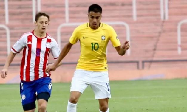 Com gol de Reinier, Brasil goleia Paraguai em amistoso preparatório para o Mundial Sub-17; meia deve ser reintegrado amanhã
