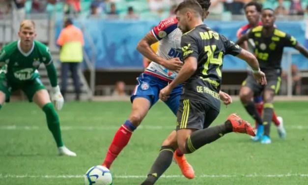 Notas e atuações dos jogadores de Bahia 3×0 Flamengo