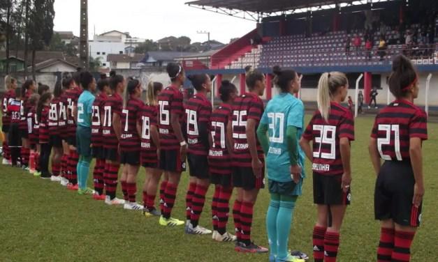 Flamengo/Marinha goleia e garante quarta colocação no Brasileiro Feminino