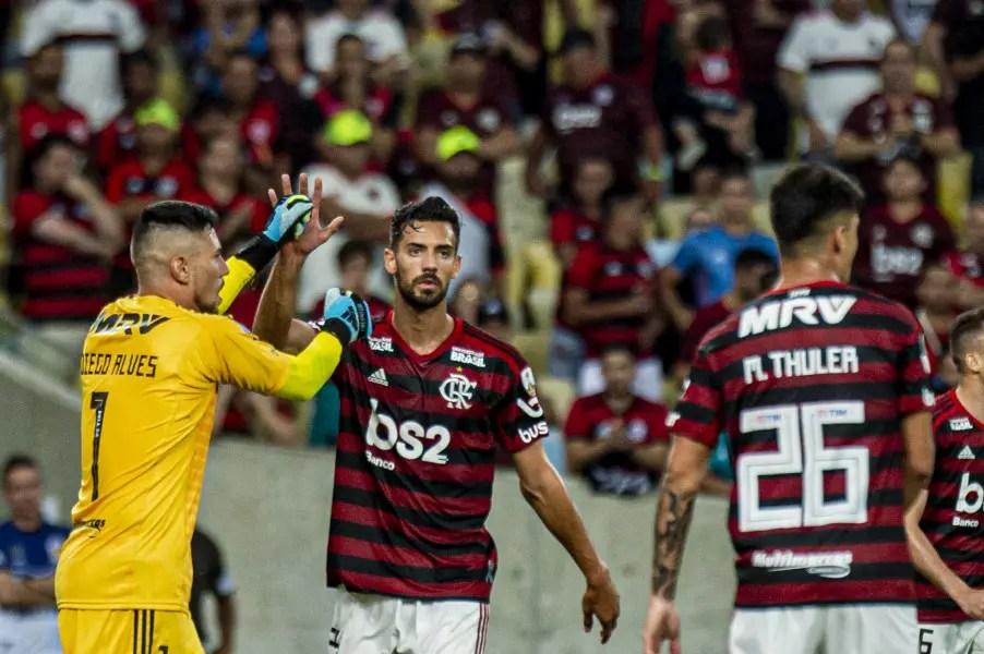 """Pablo Marí coloca Flamengo no nível de Real e Barça, e define classificação como """"final épico"""""""