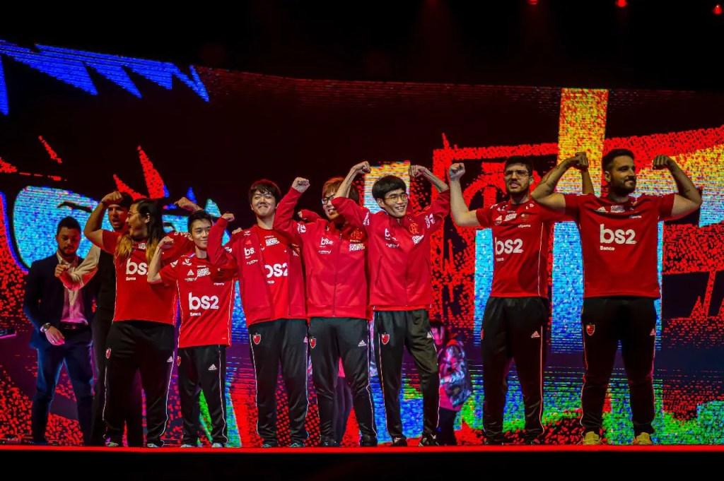Flamengo eSports é campeão brasileiro de League of Legends.